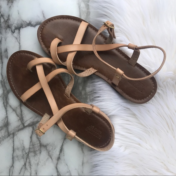 dc83b02e8e4 Mossimo Supply Co. Shoes - Mossimo Supply Co. Strappy Sandals - tan brown